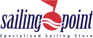 Sailing point logo with spec sail text PNG